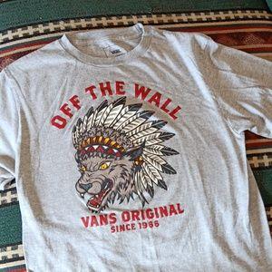 """Vans Original """"Off the Wall"""" Shirt"""
